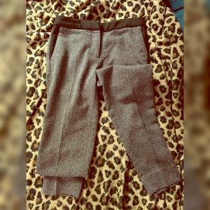CLASSY! Tweed style pants with black accent Sz 2